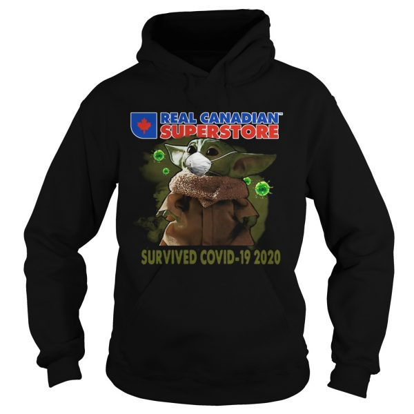 Baby Yoda Real Canadian Superstore Survived Covid19 2020  Hoodie