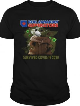 Baby Yoda Real Canadian Superstore Survived Covid19 2020 shirt