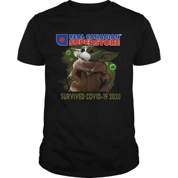 Baby Yoda Real Canadian Superstore Survived Covid19 2020  Unisex