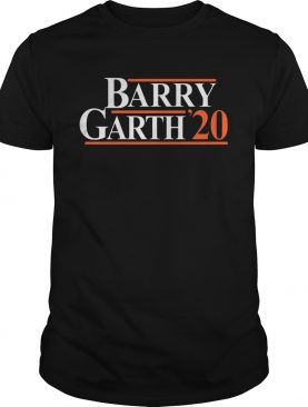 Barry Garth 2020 shirt
