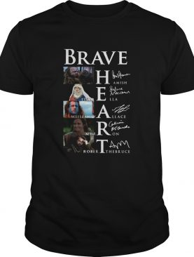 Brave Hamish Isabella William Wallace Murron Robert The Bruce Signatures shirt