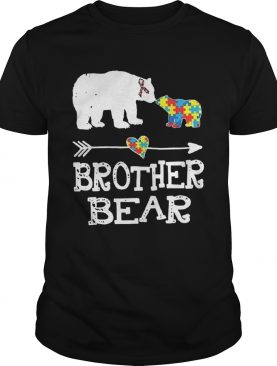 Brother Bear Autism Awareness Month Gift Autism Baby Bear shirt