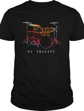 Drum My Therapy shirt