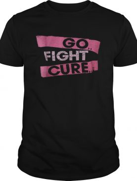 In October We Wear Pink Breast Cancer fight cure shirt