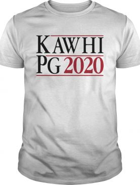 Kawhi Leonard Paul George Campaign In 2020 shirt