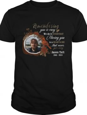 Missing You Is HeartachePhoto Memorial Personalized shirt