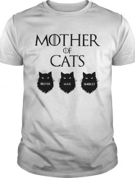Mother Of Cats GOT Personalized shirt
