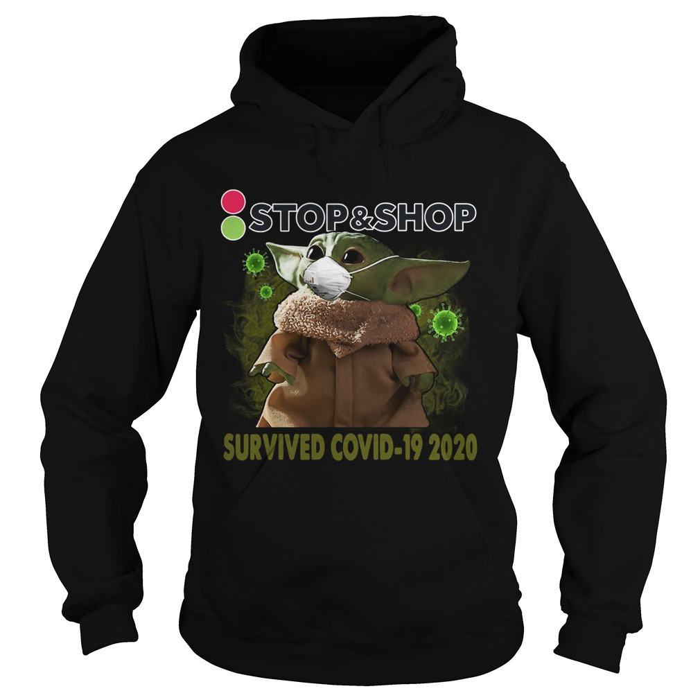 Baby Yoda StopShop Survived Covid 19 2020  Hoodie