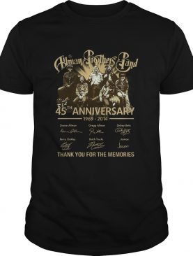 Human Brothers Band 45th Anniversary 19692014 Thank You For The Memories And Members Signature s