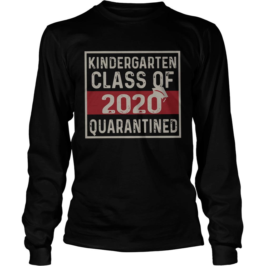 Kindergarten Class Of 2020  Long Sleeve