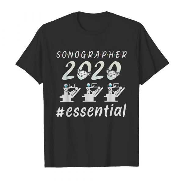 Sonographer 2020 mask essential  Classic Men's T-shirt