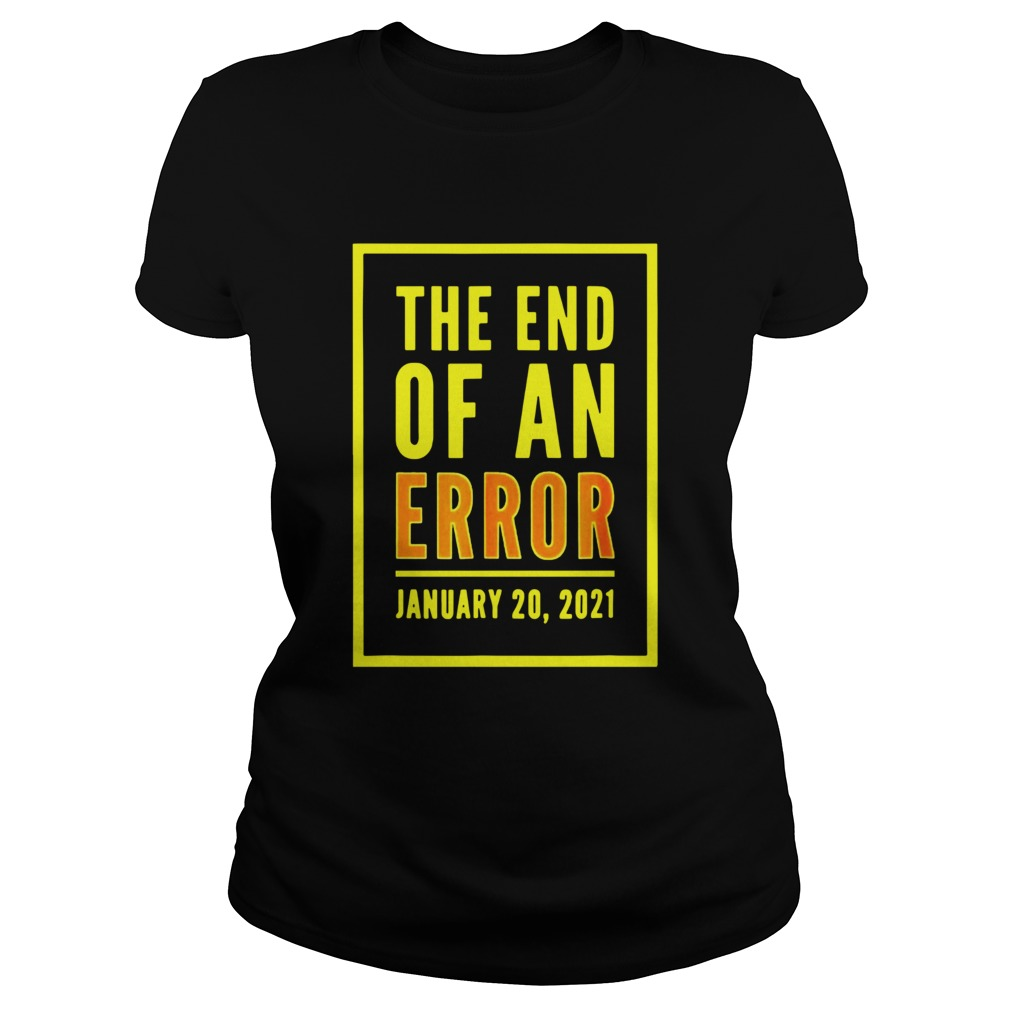 The End Of An Error January 20th 2021  Classic Ladies