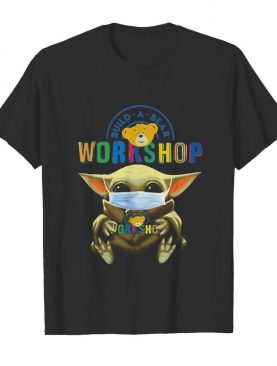 Baby Yoda hug Build a Bear Workshop mask shirt