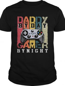 Daddy By Day By Night Gamer Vintage shirt