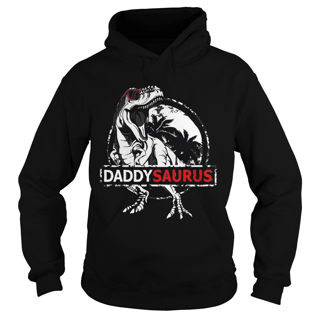 Daddy Saurus Fathers Day Gifts Trex Daddy Saurus Men  Hoodie