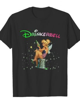 Disney tinkerbell drinkerbell american flag independence day shirt