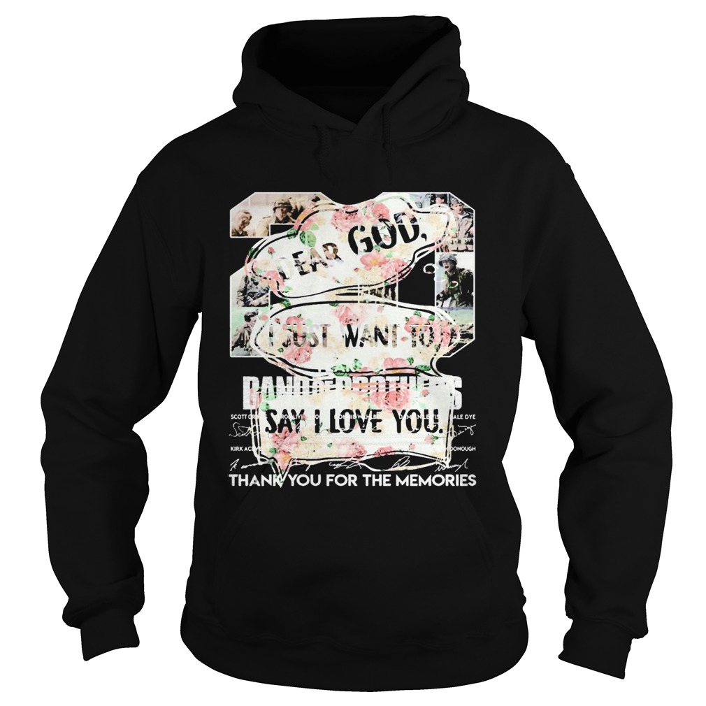 Floral Dear God I Just Want To Say I Love You  Hoodie