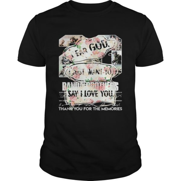 Floral Dear God I Just Want To Say I Love You  Unisex