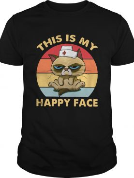 Grumpy This Is My Happy Face Vintage shirt