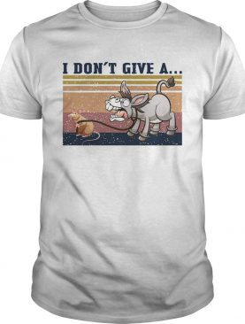 Mouse and Donkey I Dont Give A vintage shirt