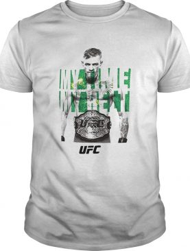 Reebok conor mcgregor ufc my time my belt champions shirt
