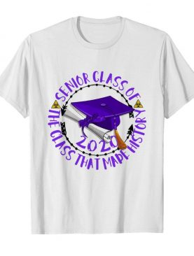 Senior Class Of 2020 The Class That Made His Story Purple shirt