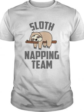 Sloth Napping Team shirt