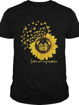 You are my sunshine sunflower pitbull shirt