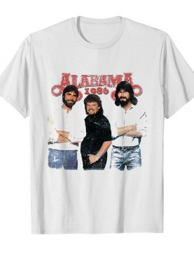 Alabama 1986 sky blue shirt