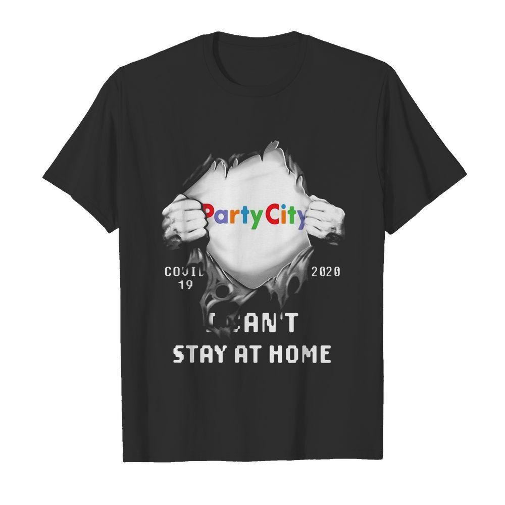 Blood insides party city covid-19 2020 I can't stay at home  Classic Men's T-shirt