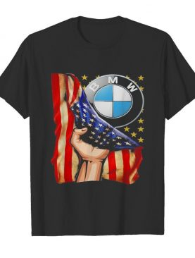 Bmw american flag independence day shirt