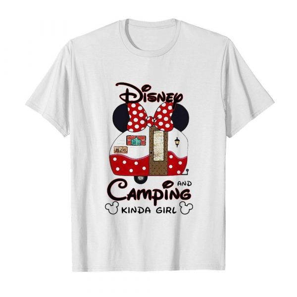 Disney minnie mouse and camping kinda girl  Classic Men's T-shirt