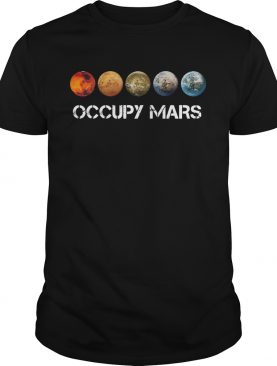 Five Occupy Mars Nasa SpaceX shirt