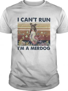 I cant run Im a merdog vintage retro shirt
