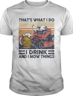 I fought the lawn and the lawn won vintage retro shirt