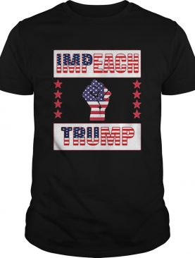 Impeach trump american flag independence day black lives matter shirt