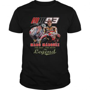 Marc Marquez The Man The Myth The Legend Signature  Unisex