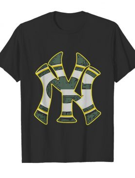 New york yankees and green bay packers shirt
