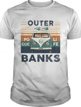 Outer banks poli gue fe vintage retro shirt
