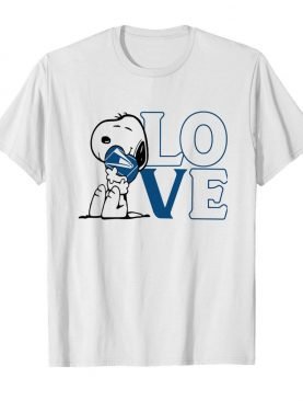 Snoopy hug heart love united states postal service shirt