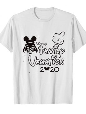 Star wars darth vader family vacation 2020 mickey mouse shirt