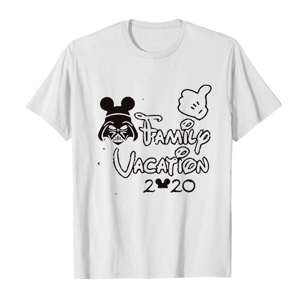Star wars darth vader family vacation 2020 mickey mouse  Classic Men's T-shirt