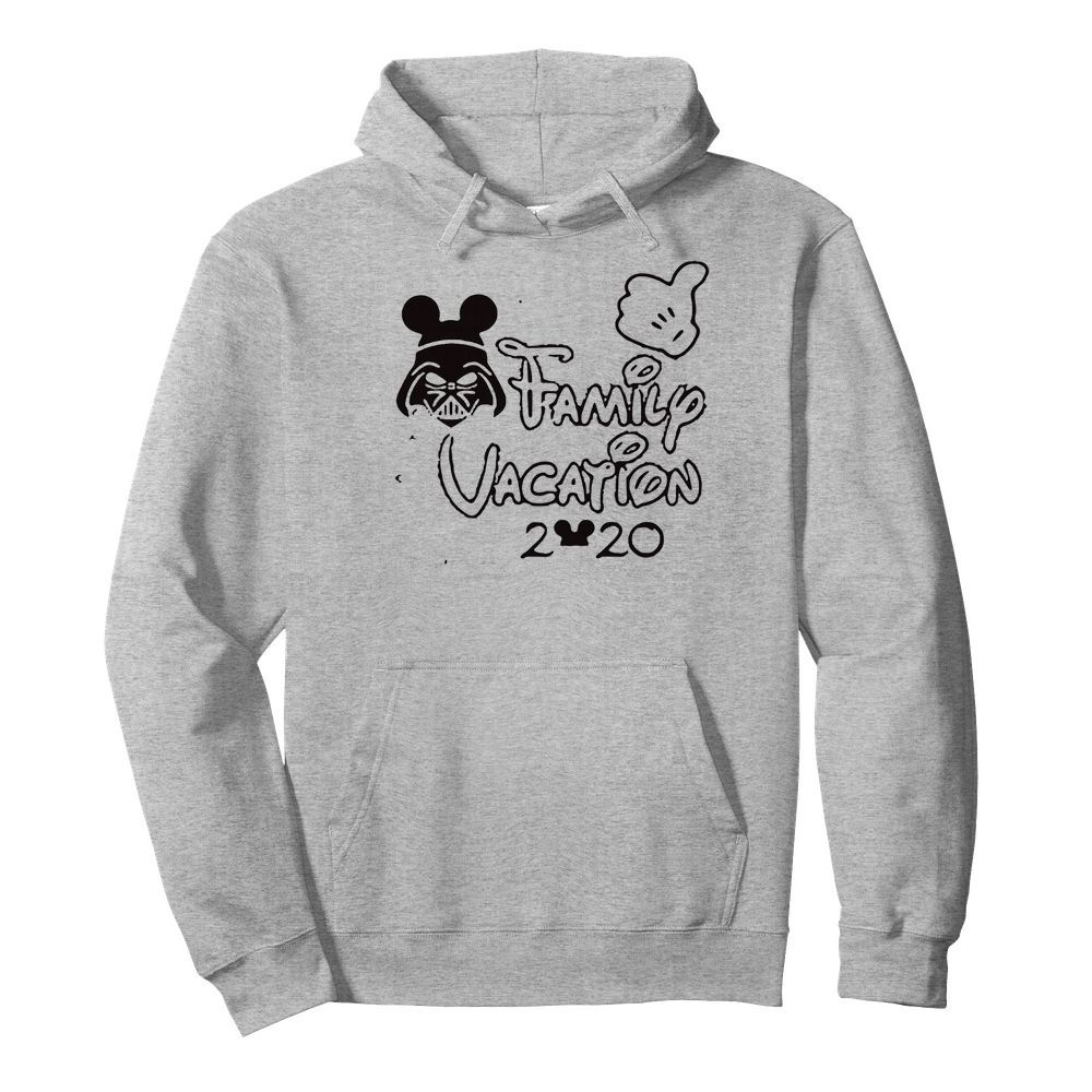 Star wars darth vader family vacation 2020 mickey mouse  Unisex Hoodie