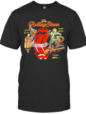The Rolling Stone Band Members Signatures T-Shirt