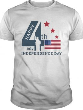 The World Happy 4th Of July Independence Day American Flag shirt