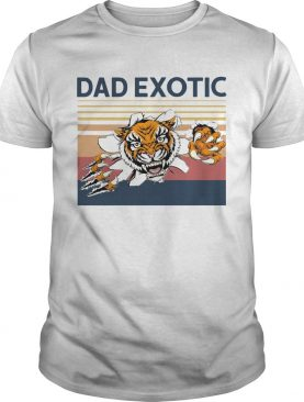 Tiger Dad Exotic Vintage shirt