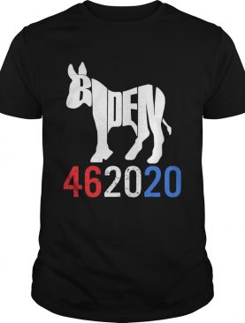 Biden 46 20 20 red white blue shirt