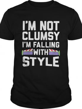 Im Not Clumsy Im Falling With Style shirt