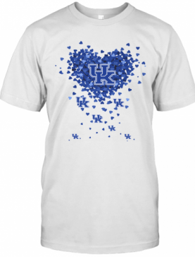Kentucky State Thorobreds Three Wolves Heart T-Shirt