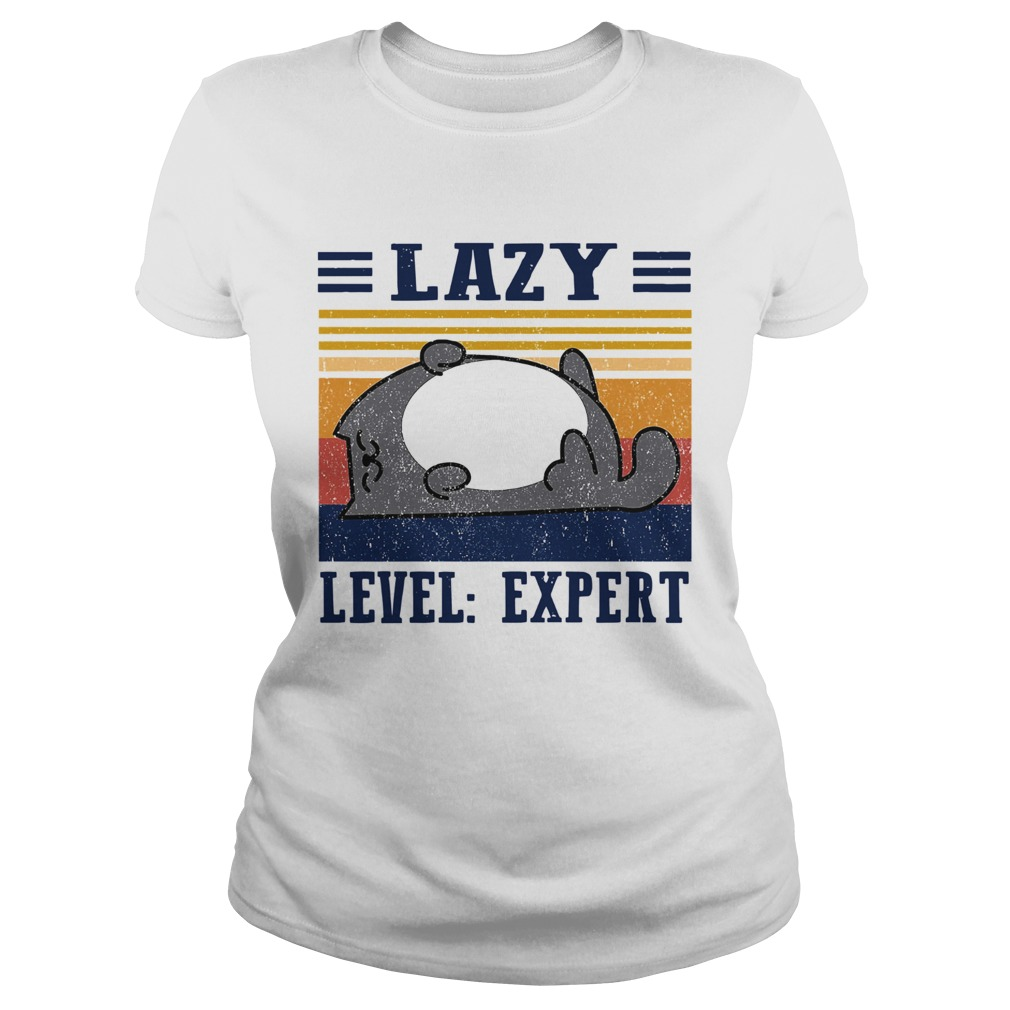 Lazy Level Expert Vintage  Classic Ladies